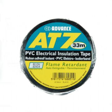 PVC Tape, 19mm, Black